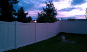 Bufftech Vinyl Privacy fence at its best